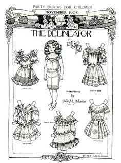 The Delineator Paper Doll - Debbie - Picasa Web Albums