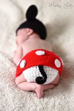 The Disney Baby Blog: Newborn Minnie Mouse Outfit: Baby Carlen