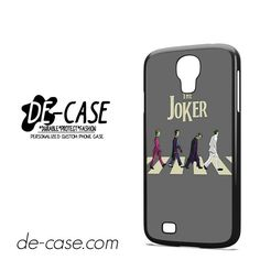 Joker The Bettles Style DEAL-5948 Samsung Phonecase Cover For Samsung Galaxy S4 / S4 Mini