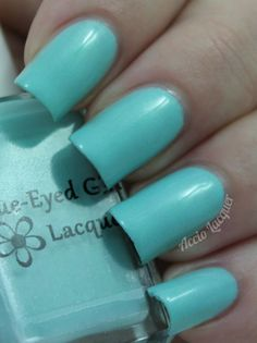 Blue-Eyed Girl Lacquer Monster's Tea at Tiffany's