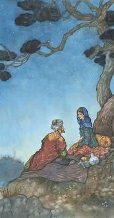 Illustration by Niroot Puttapipat from the new Folio edition of the Rubáiyát of Omar Khayyám.