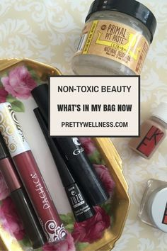Here are some of my favorite fall non-toxic, green beauty products.