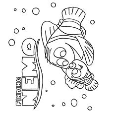 40 Cute Finding Nemo Coloring Pages For Your Little Ones