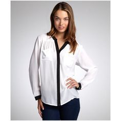 black and white blouse - Google Search