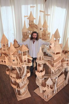 Okay, here's the model (amazing!), when is he going to build the full size?  I'm there!