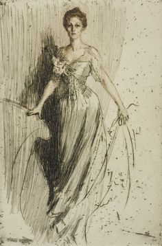 ▴ Artistic Accessories ▴ clothes, jewelry, hats in art - Anders Zorn | Miss Lurman