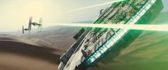 Star Wars 7 Trailer Analysis: A Closer Look At The Visuals & Story - Millennium Falcon