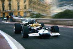 Graham Hill (Lotus-Ford 49C) Grand Prix de  Monaco 1970