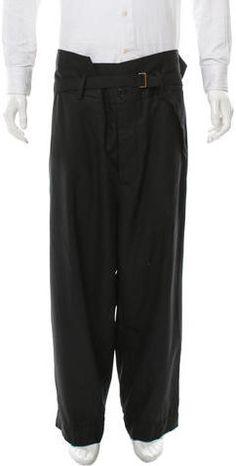Marni Cropped Wool Pants w/ Tags Wool Pants, Harem Pants, Mens Dress Pants, Marni, Sweatpants, Tags, Stylish, Fashion, Moda