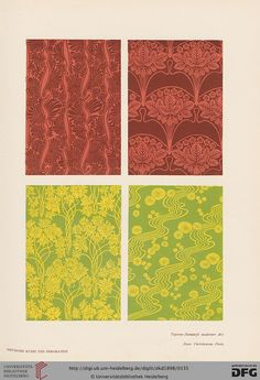 Deutsche Kunst und Dekoration [German Art and Decoration] magazine, Volume 2, 1898. Art nouveau.