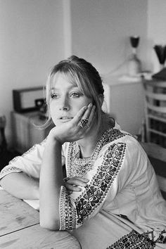 Helen Mirren, photographed in her in London, 1969. Photographed by Neil Libbert
