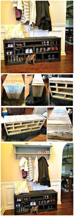DIY Wooden Pallet Shoe Rack - Pallets Pro