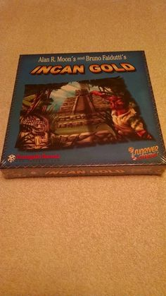 Incan gold alan r. Moon's and bruno faidutti's funagain games #RRGames