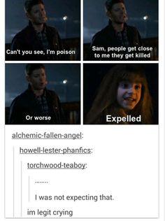 Supernatural +Harry potter.