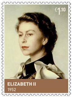 Pietro Annigoni - Definitive Queen Elizabeth British Stamps