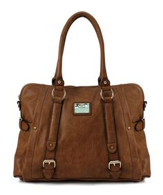Scarleton Medium Belt Accent Tote Bag H126404 - Brown EU