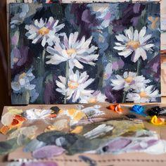 Flower Paintings, Paper, Flowers, Instagram, Art, Paintings Of Flowers, Craft Art, Floral, Kunst