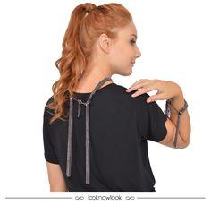 Colar e pulseira com franjas da Ellus Deluxe para arrasar até com a sua t-shirt mais básica!  #moda #acessórios #colar #pulseira #franjas #tendência #bijoux #look #outfit #shop #lojaonline #ecommerce #lnl #looknowlook