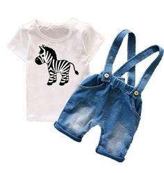 Cheap boy clothing set, Buy Quality toddler boys clothing directly from China boys clothes summer Suppliers: Toddler Boys Clothing Sets Kids Boys Clothes Summer 2017 Mickey Cartoon Fashion Baby Boys Clothing Suspender Jeans Shorts Boys Summer Outfits, Summer Boy, Toddler Boy Outfits, Toddler Boys, Kids Boys, Girl Outfits, Baby Boys, Mickey Cartoons, Suspender Jeans