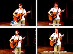 Oh, Darren...only you could get away with calling yourself an idiot...at least in my presence!