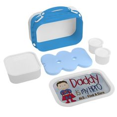 ALS - Daddy My Hero Yubo Lunch Box Lunchbox