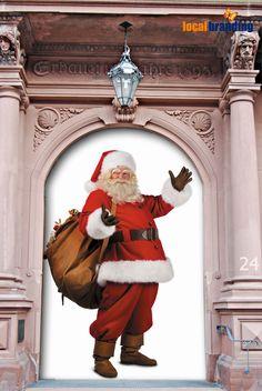 24. Türchen  das #LocalBranding Team wünscht Ihnen frohe Weihnachten!  Was macht ihn so erfolgreich? Er ist Marke!