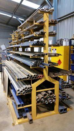 probe DIY Welding Plans s board Storage rack fo Steel Storage Rack, Steel Racks, Metal Rack, Metal Shop, Diy Storage, Storage Organizers, Tool Storage, Kitchen Storage, Storage Closets