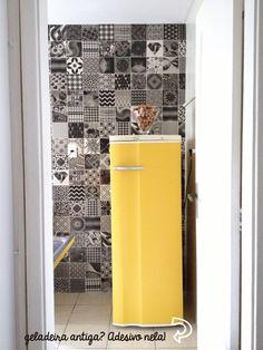 Usando adesivos com criatividade na cozinha! - Decorviva