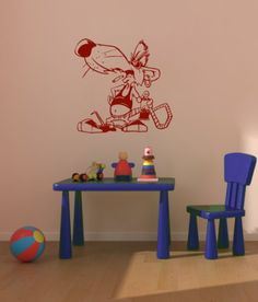 Housewares Vinyl Decal Punk Rat Home Wall Art Decor Removable Stylish Sticker Mural Unique Design for Cafe Room Decal House http://www.amazon.com/dp/B00EXPAJZE/ref=cm_sw_r_pi_dp_D3NUtb14X750H6E6