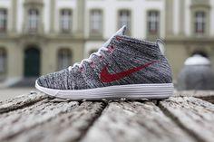 Nike Lunar Flyknit Chukka Wolf Grey