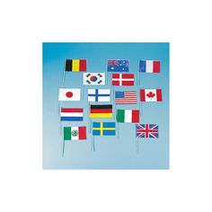 Flags Of All Nations - OrientalTrading.com