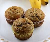 Diabetic Enjoying Food: BANANA BRAN MUFFINS