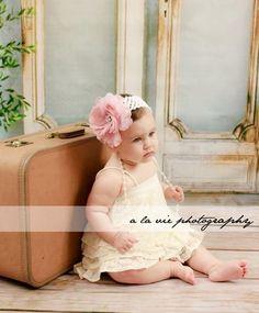 One Year old Photo idea. New Vintage backdrop design by Eye Candy Backdrops & Floordrops. www.eyecandydrops.com