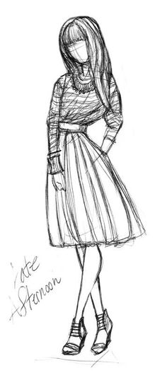 Fashion sketches 355573333082030906 - New Fashion Sketches Dresses Skirts Ideas Source by lolitagibout Dress Sketches, Fashion Sketches, Drawing Sketches, Cool Drawings, Sketching, Art Du Croquis, Arte Fashion, Dress Fashion, Illustration Mode