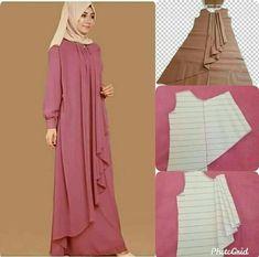 Fancy Dress Design, Stylish Dress Designs, Skirt Patterns Sewing, Clothing Patterns, Abaya Pattern, Velvet Dress Designs, Muslim Women Fashion, Abaya Designs, Dresses Kids Girl