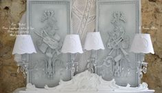 Meilleures images du tableau appliques wall lamp shabby chic