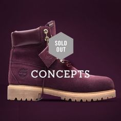Timberland | Limited Release | Concepts Collaboration