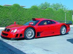 1998 Mercedes-Benz CLK-GTR (Red)