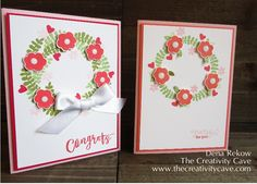 Endless Thanks Wreaths by drekow - Cards and Paper Crafts at Splitcoaststampers