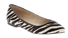 Zebra Print BR Flats