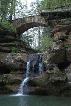 Old Man's Cave, Hocking Hills State Park, Logan Ohio