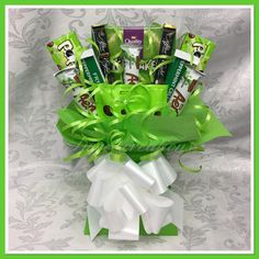 Your place to buy and sell all things handmade – Chocolate Bouquet Box, Diy Bouquet, Candy Bouquet, Sweet Bouquets Candy, Chocolate Christmas Gifts, Chocolate Gifts, Sweet Hampers, Gift Hampers, Galaxy Chocolate