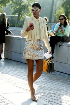 37 Dreamy Spring Street Style Outfit Ideas We're Pinning Right Now