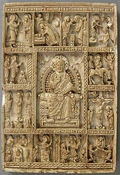 Icon with Christ Pantepotes and the Chorus of Saints
