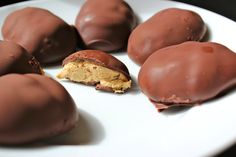 63 calorie reese's easter egg! wait, what?!?! | Our Simple Happy Life...made with PB2