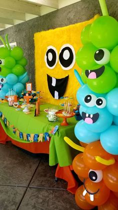 Monster theme party Birthday Party Ideas | Photo 6 of 18 | Catch My Party