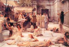 The Women of Amphissa, 1887 - Sir Lawrence Alma-Tadema