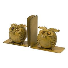 Viola Owl Bookend (Set of 2)
