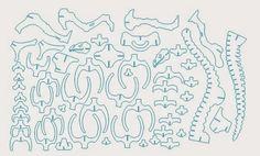 Diseño vectorizado de Brontosaurio para cortar a láser  Buen dia, aqui les traigo un diseño vectorizado de un brontosaurio, para elaborarlo...