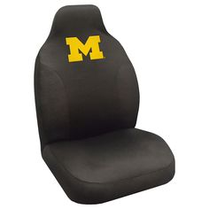 Michigan Wolverines NCAA Polyester Embroidered Seat Cover